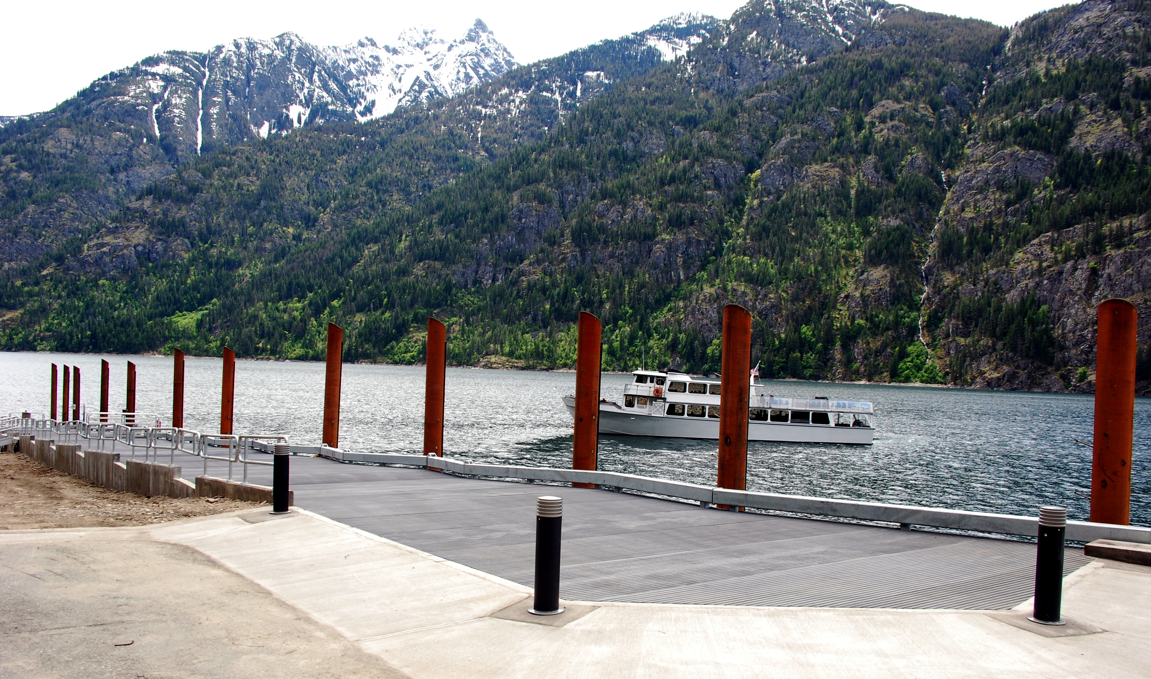StructDesign - North Cascades National Park - Stehekin Dock